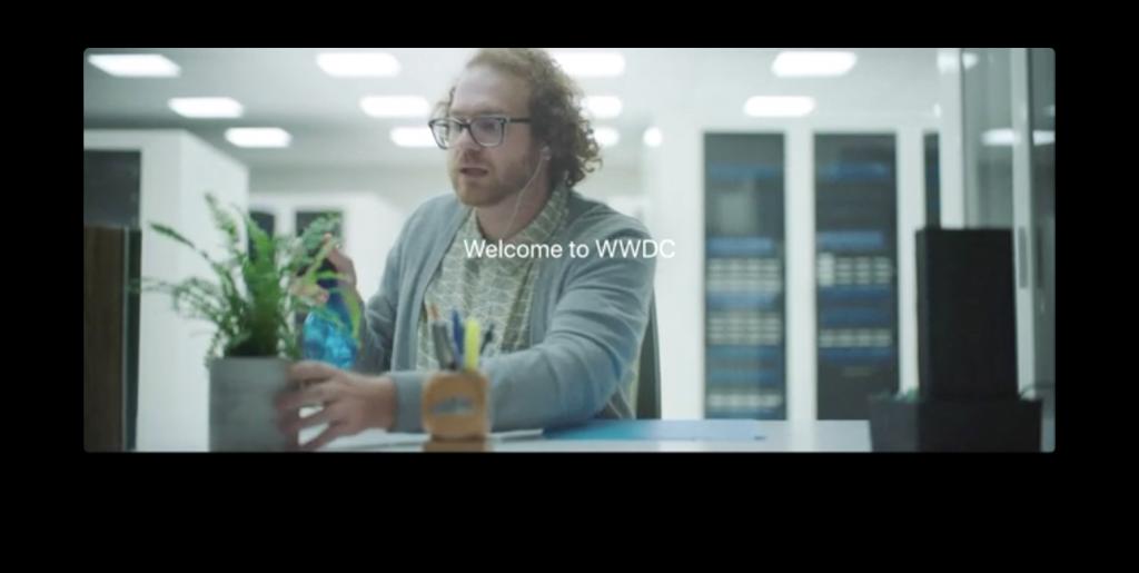 WWDC2017冒頭の動画