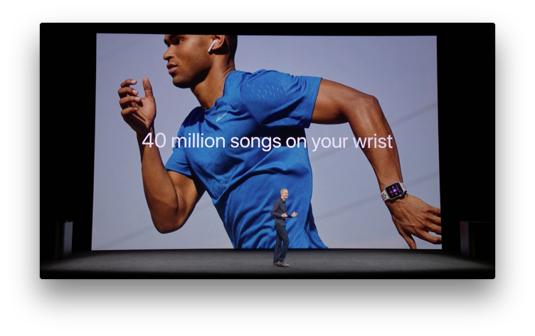Apple WatchでApple Musicが使える