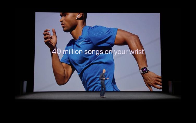 Apple WatchでApple Musicが使える