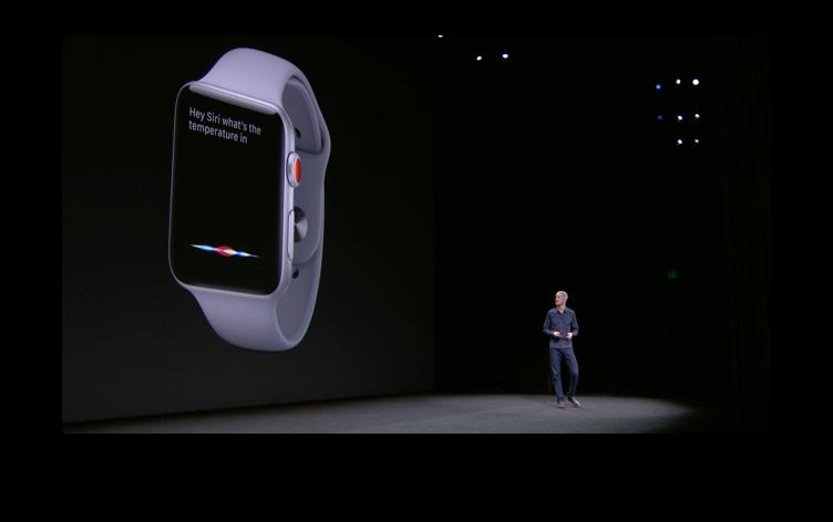 Apple Watch単体でSiriが使える