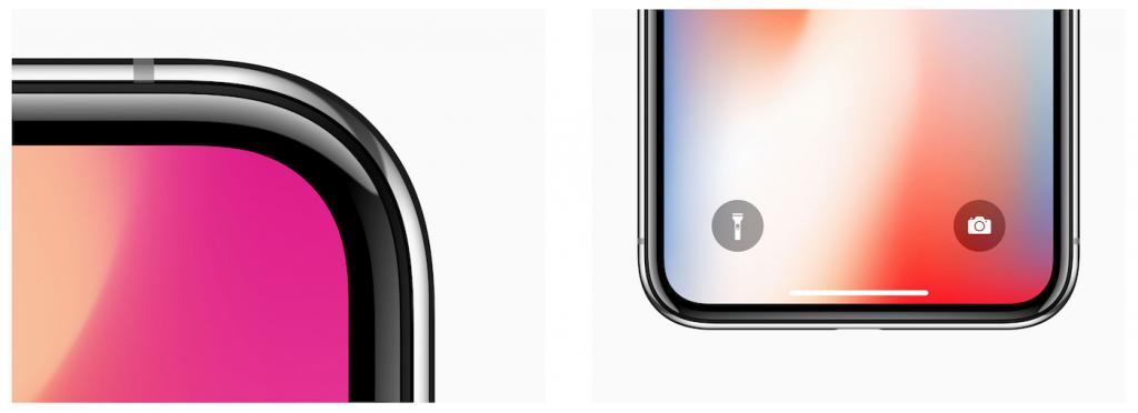 iPhone Xの画面の画像