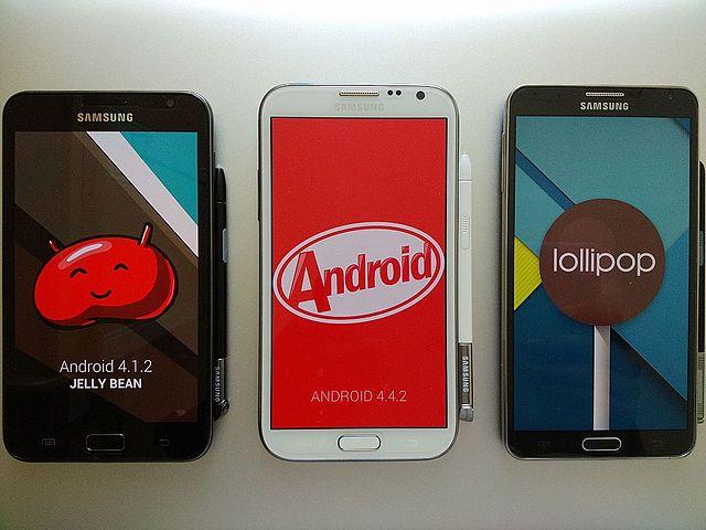 Galaxy Noteシリーズの画像